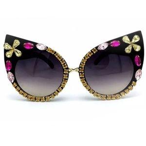 Dazzle Cat Eyes Sunglasses